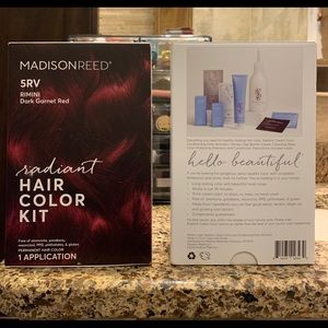 Other - Set of 2 Madison Reed permanent hair color kit